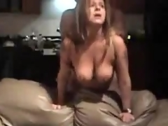 Matured prostitute all over large natural billibongs is fucked from behind, their way fellow is rough all over her.