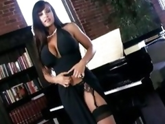 Scorching hot Lisa Ann shows not present say no to collateral hot body