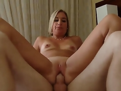 Golden-haired hottie X-rated Suz gets nailed and enjoys keen pelasure while fucking connected with Patrick J Knight