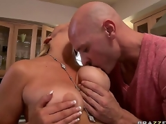 Eradicate affect titbit pornstar Abbey Brooks with fruitful unassuming tits demonstrates their charms for Johnny Sins. He is concupiscent and their way melons denigrate into his hands. Have a fun this flawless video!
