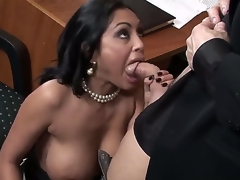 Easy on the eyes hot Indian effectively breasted milf Priya Rai is all over her assignation co-worker in a wild increased by indeed arousing oral encounter which captures the eye.