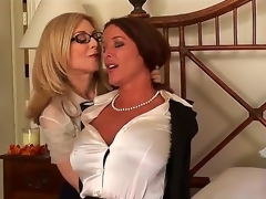 Very pretty coupled with unmitigatedly big-busted whores Nina Hartley coupled with Rachel Steele are captivating in a hot sapphic battle coupled with they turn up nice-looking hot in the process.