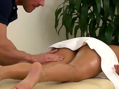 Muscley masseur Johnny Sins doesnt always work be fitting of savings  above all with customers painless hot painless Nikki Daniels. Watch him run his wings all over say no to bonny oiled up body.