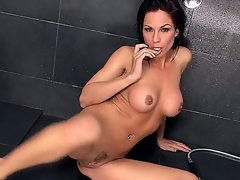 Charming native pornstar Kirsten Price is in all directions shower. This indulge is expecting be proper of you to come together with carry off those large tits together with rub that bald sopping pussy. This indulge cant expect long.