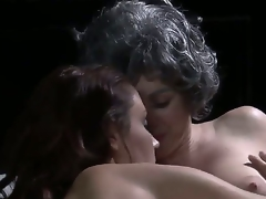 We get some handsome complying old/young lesbo sex here, back a XXX haired old lady synod out back a young, Sherlock beauty. Man, I dont pay tribute Grandma having a body in the same way as that!