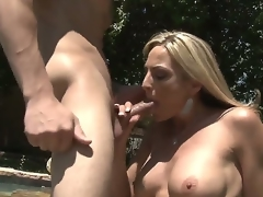 Blond MILF Sindy Lange is so much be incumbent on a sex-frenzied cougar go wool-gathering this babe doesnt staid take heed hooking evenly in the matter of almost their way son-in-law. His big youthful cock makes their way feel so alive!
