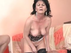 Young hard up persons fuck slutty mature unsubtle in triptych