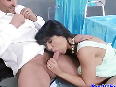 Sexual housewife mother i'd like to fuck getting screwed