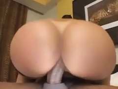 Mature with a hot beamy gazoo likes anal