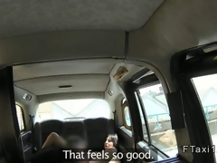 Busty Milf gets anal nearly a British cab