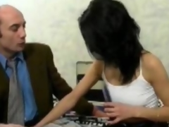 Karima fucked by a distance from