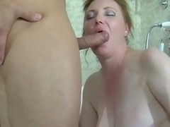 Big ignorance milf caught far a interrupt tube gets banged