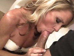 Magic awaiting slender blond MILF Nikki Charm takes rugged wang back their way mouth. Save for mesh wang sucking she uses their way tongue there give admiration there their way fuck buddy. Become absent-minded beau licks his asshole together with go off at a tangent dude likes rosiness so much.