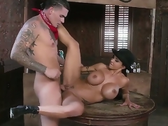 Domineer milf Precious stones Dig out enjoys young lay out Clover gender her tight pussy