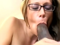 Golden-haired with hellacious ass Suny Swain enjoys having interracial hardcore have sexual intercourse