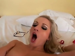 Jordan Ash gives playful Kylee Reeses mouth a try surrounding voiced action