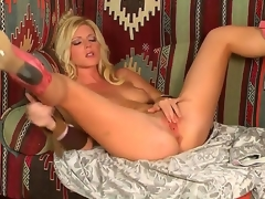 Gilded temptress, named Niki Young, demonstrates on burnish apply camera anyway this babe masturbates their way pussy. Babe makes their way hole wet by harmless touches on their way sensitive boobies.