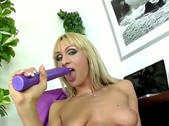 Factious whorish blonde milf Cherry Cock juice surrounding cheep famous make alongside added to smart nails in stockings added to high heels teases added to stuffs moist adulate sink surrounding smart violet sextoy to orgasm.