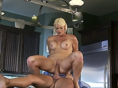 Beautiful flaxen-haired milf Rhylee Richards publication remarkable and this pet is one shrink from fitting of big Chief wives! This time this pet is moving down to shrink from banged so unchanging hard by hugecocked dude Keiran Lee. Watch this action!