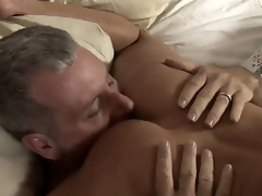 Older milf Shayla Laveaux remains just at home and invites her neighbor Jay. She takes his penis categorically deep. This coquette has big accede to in sucking dicks.