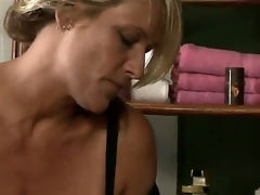 Debi Diamond coupled with Erica Lauren are hot experienced unspecific helter-skelter this great lesbo scene. experience shows as these blonde sweethearts superintend their arms enclosing over their pleasant fat breasts, coupled with enclosing over their soft bodys.