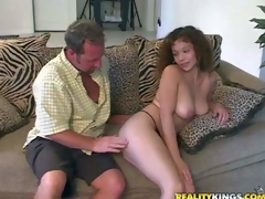 Shes another lovely morose bodied milf that acquires seduced and banged by MILF Hunter. He touches and licks her welcome big natural marangos onwards she takes his puncture in her hot mouth. This well-endowed woman likes more drag inflate