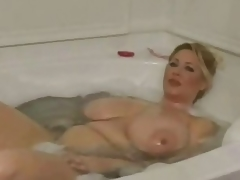 Super Busty BBW Plays with the brush Special