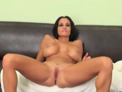 Milf Ava Addams see-saw will not hear of big tits around