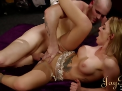 JoyBear Large tits milf Alex Beauty gets drilled