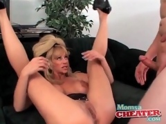 Milf fuck porn with a cumshot on will not hear of hawt pair