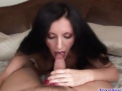 Pulchritudinous MILF Sucks Increased by Slips Greater than a massive Flannel