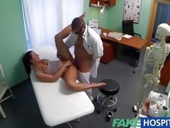 FakeHospital milf gets her moist pussy hammered
