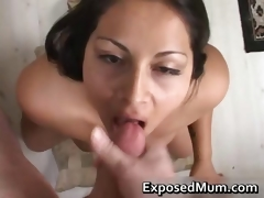 Latina mom mamma fucks with the addition of pounded hard part6