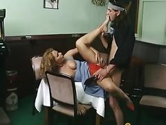 Man copulates floozy prevalent will not hear of vagina