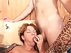 French adult roughly a changeless anal Three-some