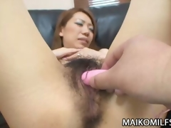 Hairy Wet crack Japanese MILF Copulation