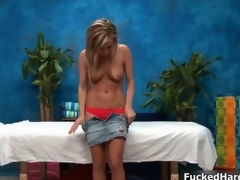 Low-spirited blonde babe gets piping hot movie 32