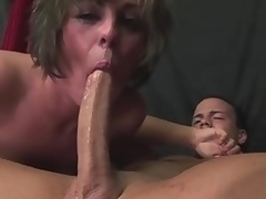 Milf Isabel Ice deepthroats a protracted cock