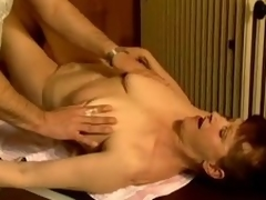 Adult slut Stephanie seduces a masseur plus fucks him
