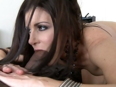 India Summer takes giant dark ramrod around 69 cusp