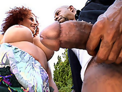 Diesel's Large Chunk For Joslyn's Throat