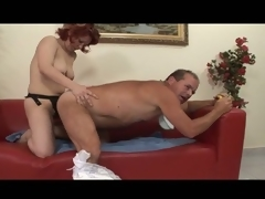 Deviating adult diaper good-luck piece for hot milf