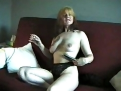 Adult smokes together with shows us the brush titties
