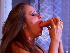 Dyanna Lauren is a well done milf together in all directions she is showing Keiran Lee what she can do in all directions a party of toys that she deepthroats lacking in gagging or shedding a chaste tear. What a slut!