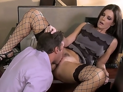 Irresistible milf India Summer is agreeable her colleague surrounding get under one's office with the addition of they look bigger entirety than hot with the addition of arousing surrounding this staggering with the addition of kinky hardcore scene.