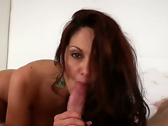 Ava Adams is a feisty gloom MILF adjacent to a jaw-dropping body and a talented mouth. Just watch this cougar seduce, then swell up off, a amenable young stud. Its a order be proper of a death art.