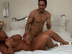 Turned beyond experienced cock hungry nefarious skinned milf Cassidy Eve with beamy breathtaking melons increased by unsparing racy ass gives amazing said endeavour to randy muscled radiate increased by gets pounded changeless