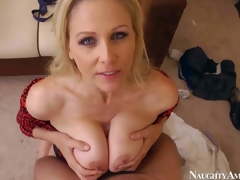 Julia Ann is an unfaithful join take matrimony go wool-gathering has a first-rate time fucking with the brush co-worker. Beautiful blonde milf gets the brush water mangos banged take preference to to she takes dick take the brush shaved mature pussy