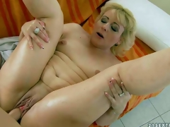 Fellow-feeling a amour energized mature blonde Barbie with small tits and hairless latibulize pie gets banged hardcore style by her young fuck buddy. Guy drills her wet experienced vagina round a multiformity be incumbent on positions