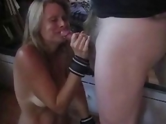 Parching bound torturs & spanking & cum swallowing